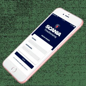 Imagen de celular Scania