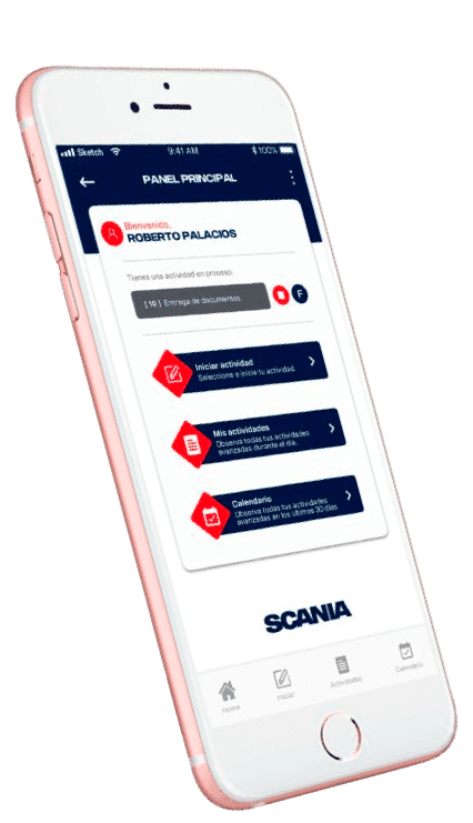 Scania celular_efecto_flotante